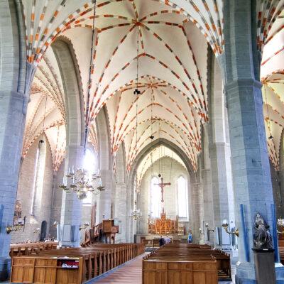 Vadstena klosterkyrka, interiör